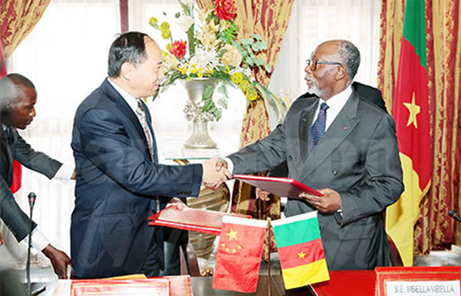 Cameroun - Chine : Cameroon-China: Visa Exemption Agreement Signed (13718)